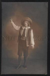 101797 Russian BALLET Star Male DANCER Role Vintage PHOTO RARE
