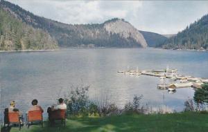 Paul Lake, KAMLOOPS, British Columbia, Canada, 40-60´s