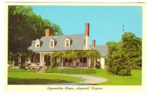 Appomattox Manor, Hopewell, Virginia, 40-60s