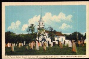 Prince Edward Island The Famous Belfast Church built over 100 yeas ago PECO - WB