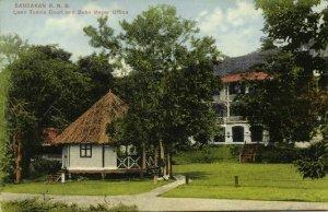 british north borneo, SABAH SANDAKAN, Lawn Tennis Court, Behn Meyer Office 1910s