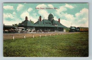 Owatonna MN-Minnesota, Union Depot, Vintage Postcard