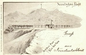 china, QINGDAO KIAUTSCHOU 膠州, Artillery Fortress Tsin Lau Kau, Boxer Rebellion