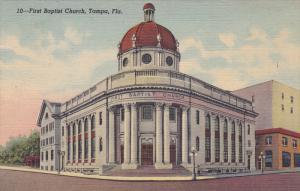 First Baptist Church, Tampa, Florida, 1930-1940s