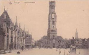 Belgium Brussels De Groote Markt 1922