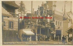 Alaska Yukon Pacific Expo, RPPC, Oakes No 1262, House That Jack Built,Pay Streak