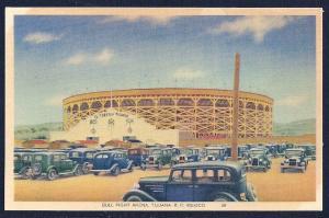 Bull Fight Arena Tijuana Mexico unused c1930's