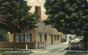 Old Bowditch House Peabody MA 1918