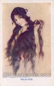 Artist Signed Raphael Kirchner (AUS) Postcard Post Card Melis&e Artist Signed...