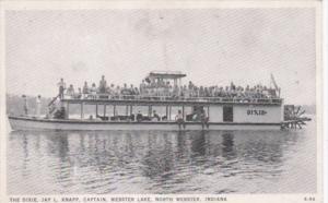 Indiana North Webster The Dixie Captain Jay L Knapp On Webster Lake