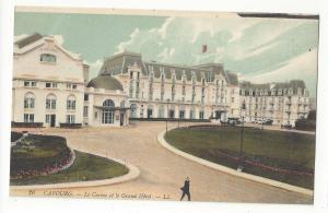 France Cabourg Le Casino et le Grand Hotel Vtg Lucien Levy c1910 Postcard