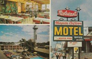 NIAGARA FALLS , Ontario, 1950-60s ; Niagara Clifton Motel