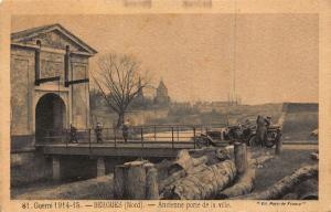 France Bergues Nord Ancienne Porte de la Ville Ancient Gate Postcard