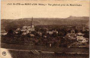 CPA St Cyr au Mont D'Or - Vue generale prise du Mont-Cindre (572913)