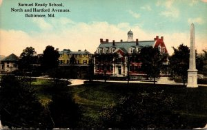 Maryland Baltimore Samuel Ready School North and Hartford Avenues