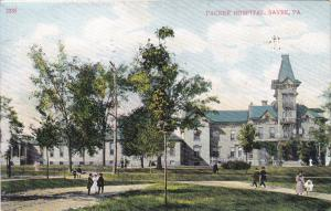 SAYRE , Pennsylvania, PU-1908 ; Exterior ,  Packer Hospital