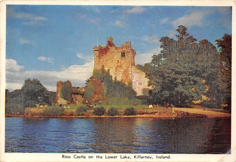 Ross Castle on the Lower Lake, Killarney Ireland