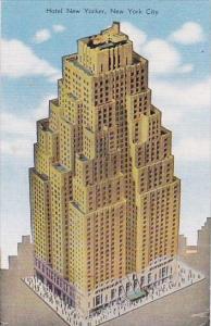 Hotel New Yorker New York City New York