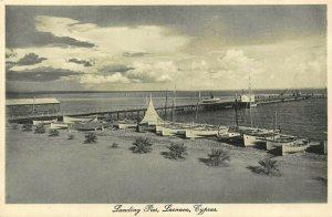 Cyprus Larnaca Landing Pier postcard