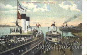 Detroit, Mich Steamer, Steamers, Ship, Ships Postcard Postcards 1908
