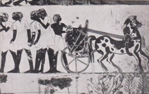 Egypt Thebes Chariot Of Prince Menna