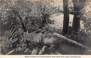 California Ca Postcard RPPC c1920 GLENDORA Ranch Los Alisos Judge Silent
