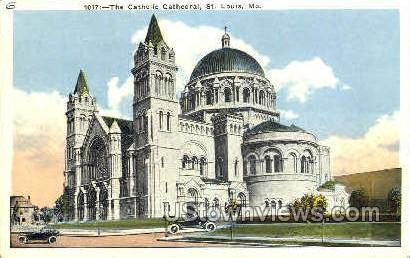 The Catholic Cathedral St. Louis MO Unused
