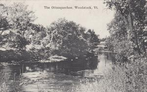 WOODSTOCK , Vermont, 1900-1910's; The Ottauquechee