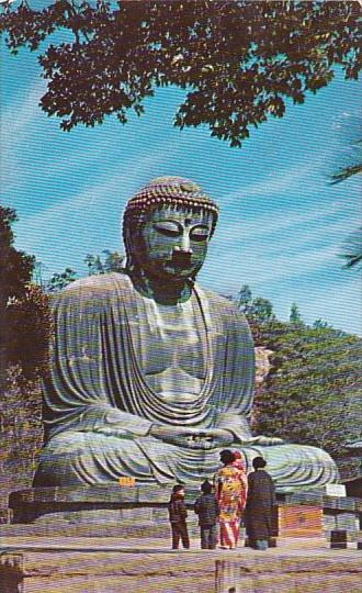 Japan Buddha At Kamakura