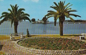 The Beautiful Waterfront Park At The Foot Of Green Bridge Palmetto Florida