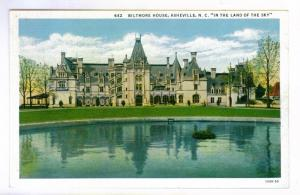 Biltmore House Asheville, North Carolina Unused linen PPC