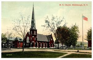 1791  NY Middleburgh   M.E. Church