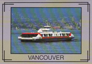 Canada Ferry The Sea Bus Vancouver