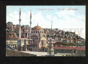 049239 CONSTANTINOPLE Mosquee Tophane Vintage PC