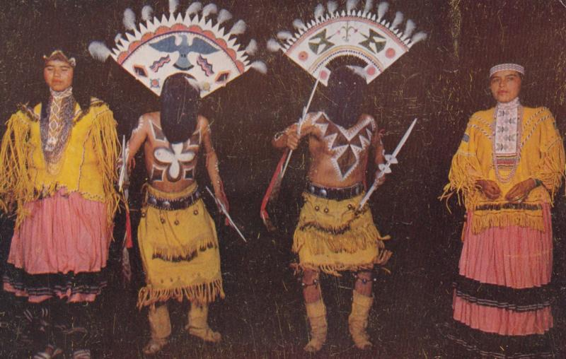 Apache Indian Devil Dancers , 40-50s