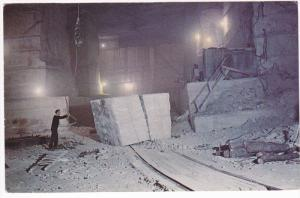 Marble Block Ready For Transport, Vermont Marble Company, Danby Quarry, Vermo...