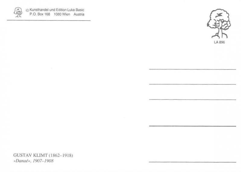 Kunsthandel und Edition Luka Basic Wien Postcard