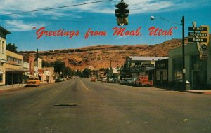 MOAB , Utah , 1966 ; Main Street