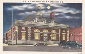 Post Office Greenwood South Carolina