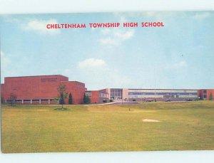 Chrome HIGH SCHOOL SCENE Wyncote - Near Philadelphia Pennsylvania PA AG6421