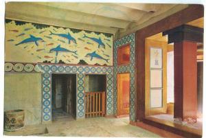 Greece, Cnossos, Knossos, Queen's Megaron unused Postcard