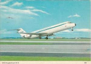Scandinavian SAS Douglas Super DC-9