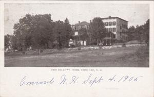 Odd Fellows Home , CONCORD , New Hampshire , PU-1905