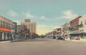 CLOVIS , New Mexico , 1930-40s ; Main Street