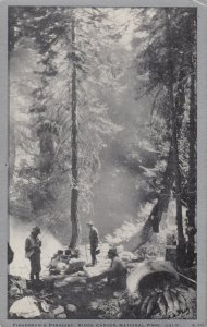 Kings Canyon National Park , California , 1930s ; Fisherman's Camp