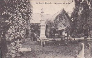 Virginia Hampton Saint Johns Church Albertype