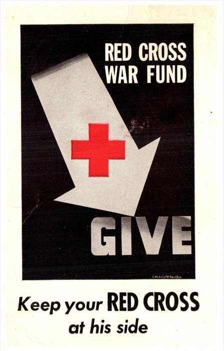 4961 American Red Cross  1945  Give to War Fund