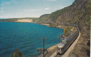 Canadian Pacific Railway, North Shore of Lake Superior, Ontario, Canada, PU-1965
