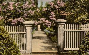 TN - Nashville. The Hermitage, Garden Entrance