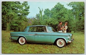 Studebaker~0-60 In Under 10 Seconds~1962 Daytona Two-Door Hardtop~Ad Postcard